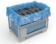 Corrosiewerende film blauw